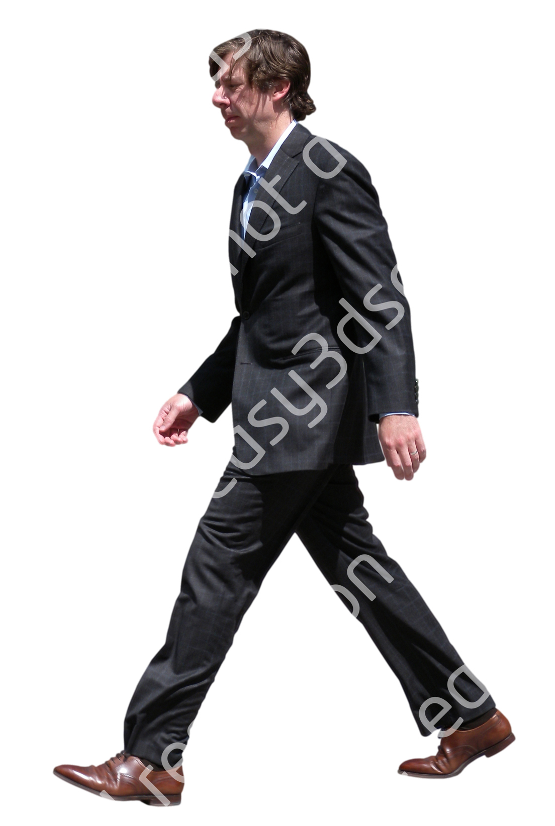 (Single) Business People V. 1 #056 man, walking