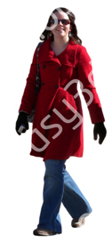 (Single) Cool Weather Casual V. 1 #011 woman, walking