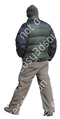 (Single) Cool Weather Casual V. 1 #031 man, walking