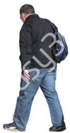 (Single) Cool Weather Casual V. 1 #032 man, walking