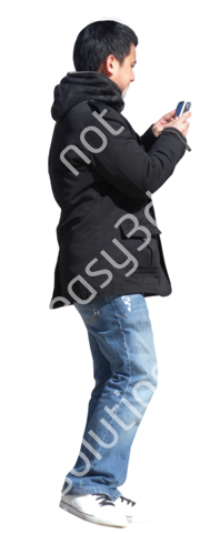 (Single) Cool Weather Casual V. 1 #036 young man, walking