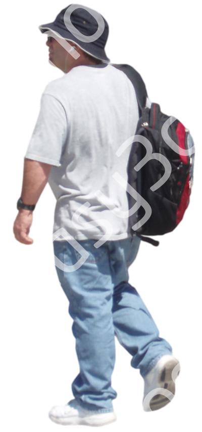 (Single) Casual People V. 2 #012 man, walking