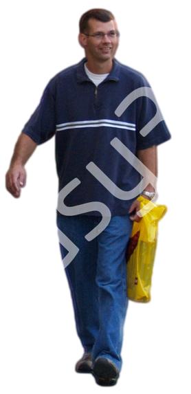 (Single) Casual People V. 2 #062 man, walking
